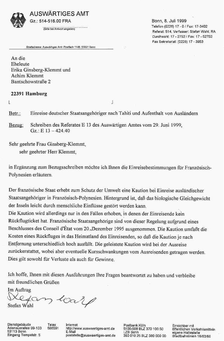 Briefe Herr Oder Herrn Antwort Vom Bundesjustizministerium Zum